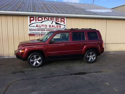 2012 Jeep Patriot for sale at Pioneer Auto Sales - Special Financing in Pioneer OH