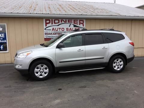 2011 Chevrolet Traverse for sale at Pioneer Auto Sales - Cash in Pioneer OH