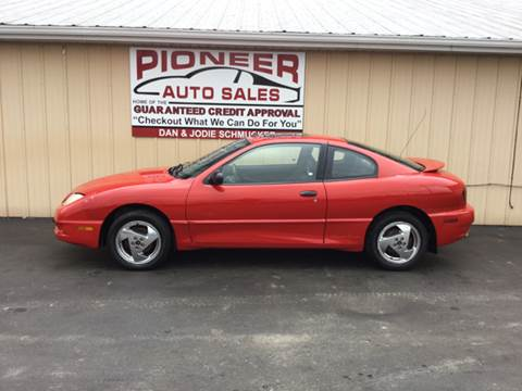 2003 Pontiac Sunfire for sale at Pioneer Auto Sales - Cash in Pioneer OH