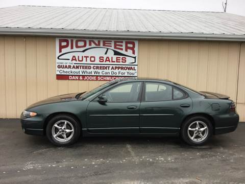 2000 Pontiac Grand Prix for sale at Pioneer Auto Sales - Cash in Pioneer OH