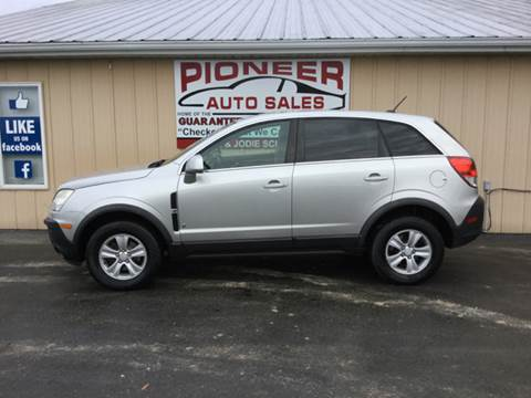 2008 Saturn Vue for sale at Pioneer Auto Sales - Special Financing in Pioneer OH