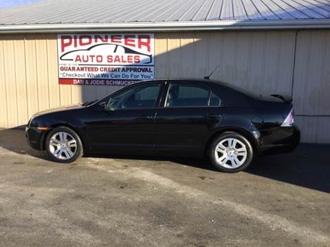 2007 Ford Fusion for sale at Pioneer Auto Sales - Special Financing in Pioneer OH