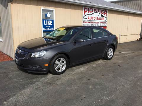 2011 Chevrolet Cruze for sale at Pioneer Auto Sales - Special Financing in Pioneer OH