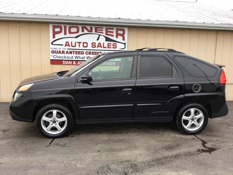 2003 Pontiac Aztek for sale in Pioneer, OH