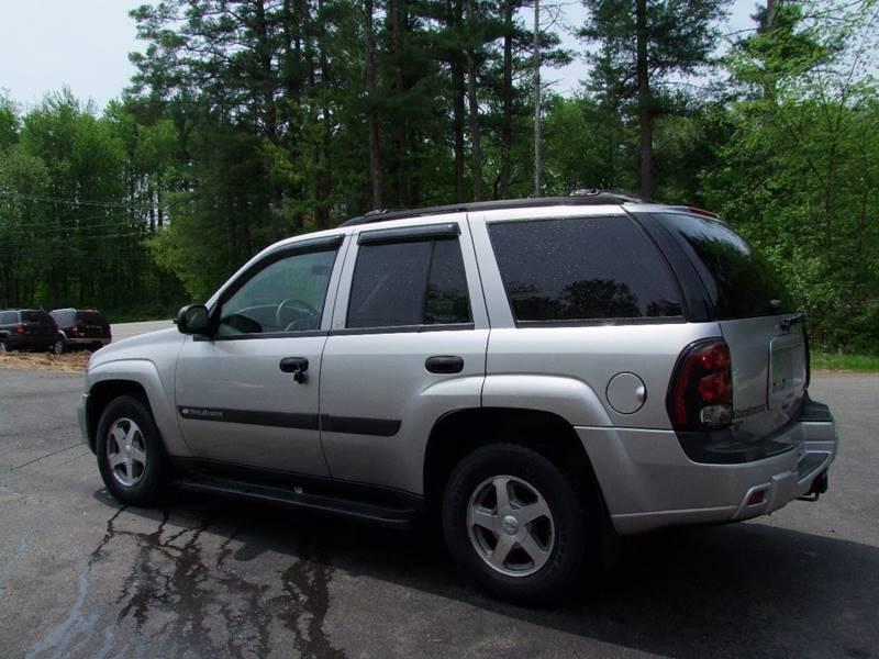 USED CHEVY TRAILBLAZER IN BARRINGTON NH Trailblazer LS 4WD 4dr SUV FOR SALE IN BARRINGTON NH ...