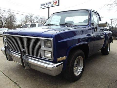 1984 chevrolet ck 10 series for sale carsforsale 1984 chevrolet ck 10 series for sale in cleveland tx sciox Gallery