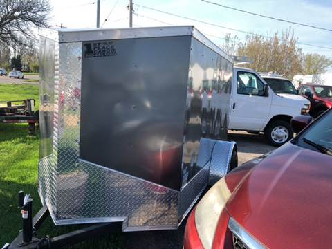 2017 Quality Steel ENCLOSED TRAILER WITH RAMP for sale in North Tonawanda, NY