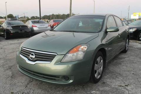 2008 Nissan Altima for sale at Excellent Autos of Orlando in Orlando FL