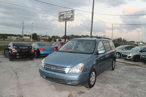 2008 Kia Sedona for sale at Excellent Autos of Orlando in Orlando FL