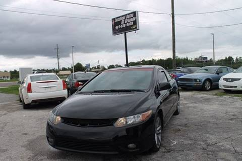 2008 Honda Civic for sale at Excellent Autos of Orlando in Orlando FL