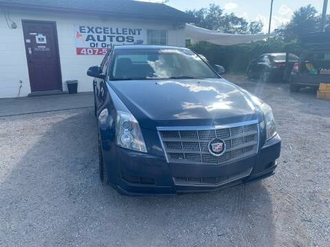 2010 Cadillac CTS for sale at Excellent Autos of Orlando in Orlando FL