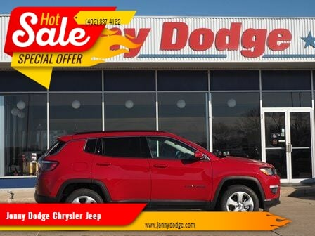 2020 Jeep Compass for sale at Jonny Dodge Chrysler Jeep in Neligh NE