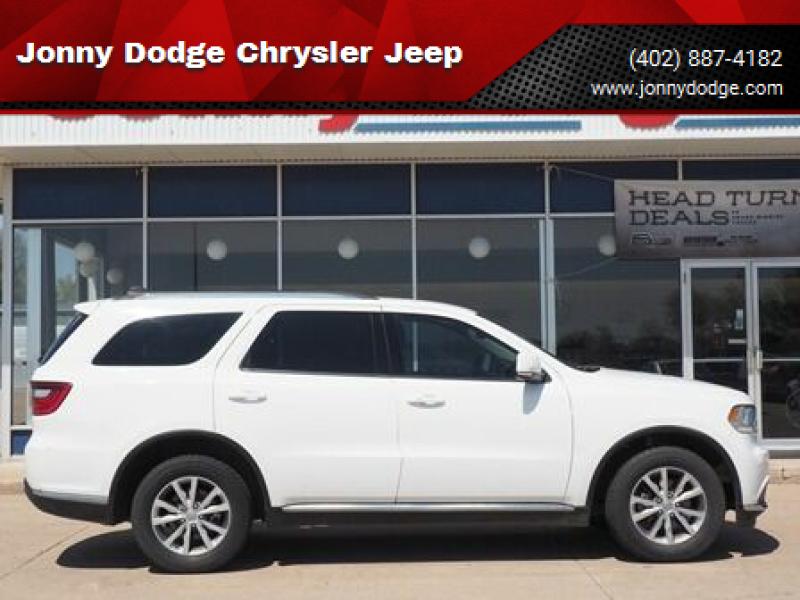 2016 Dodge Durango for sale at Jonny Dodge Chrysler Jeep in Neligh NE