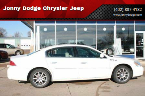 2007 Buick Lucerne for sale at Jonny Dodge Chrysler Jeep in Neligh NE