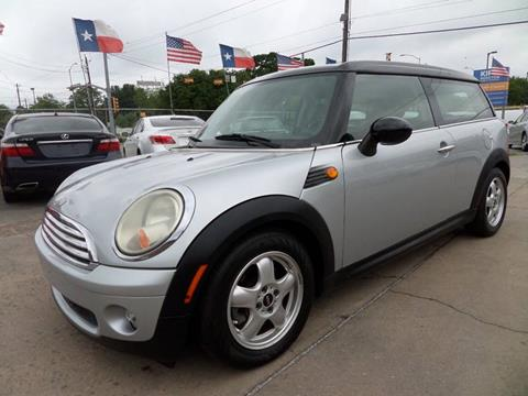 Mini Cooper Houston >> Used Mini Cooper Clubman For Sale In Houston Tx Carsforsale Com