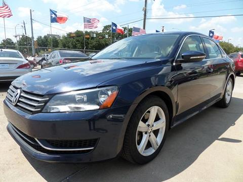 2012 Volkswagen Passat for sale at West End Motors Inc in Houston TX