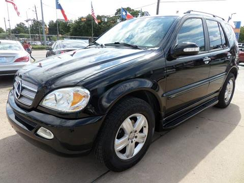 2005 Mercedes-Benz M-Class for sale at West End Motors Inc in Houston TX