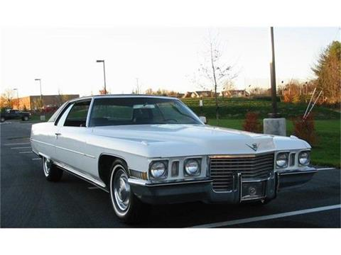 1972 Cadillac Coupe Deville >> 1972 Cadillac Deville For Sale In Harpers Ferry Wv