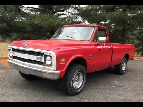 1970 Chevrolet 1/2 Ton Pickups for sale at CHAMPION PRE-OWNED CLASSICS in Harpers Ferry WV