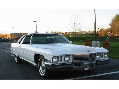 1972 Cadillac DeVille for sale at CHAMPION PRE-OWNED CLASSICS in Harpers Ferry WV