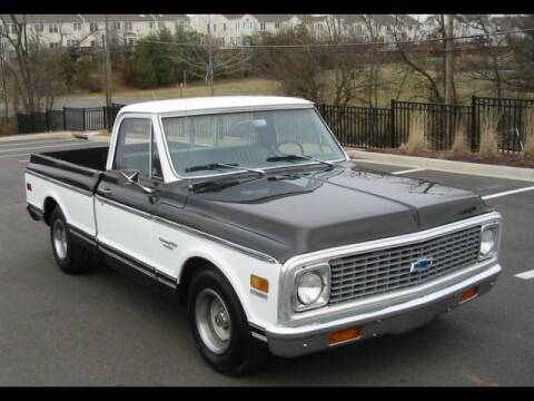 1972 Chevrolet C/K 10 Series for sale at CHAMPION PRE-OWNED CLASSICS in Harpers Ferry WV