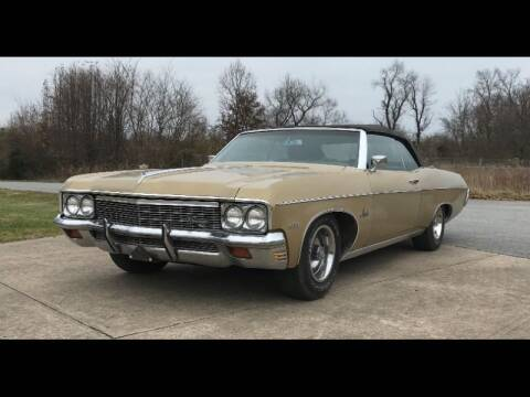 1970 Chevrolet Impala for sale at CHAMPION PRE-OWNED CLASSICS in Harpers Ferry WV