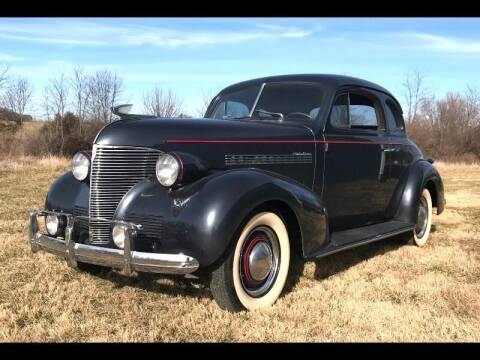 1939 Chevrolet Master Deluxe for sale at CHAMPION PRE-OWNED CLASSICS in Harpers Ferry WV