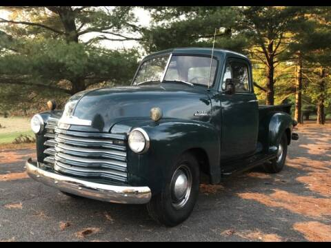 1953 Chevrolet 3100 for sale at CHAMPION PRE-OWNED CLASSICS in Harpers Ferry WV