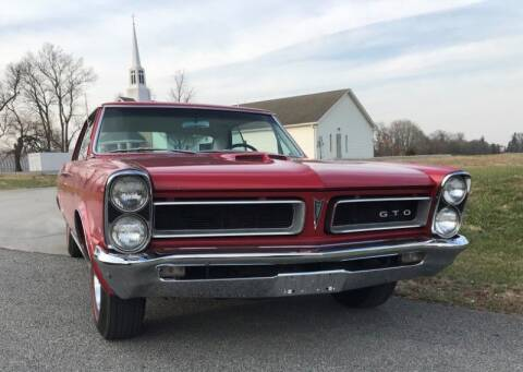 1965 Pontiac GTO for sale at CHAMPION PRE-OWNED CLASSICS in Harpers Ferry WV