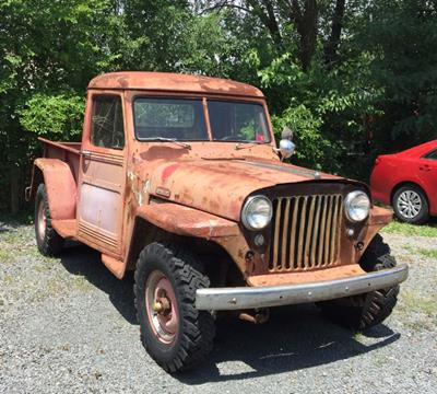 1948 Willys 4X4 PICK-UP