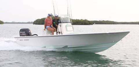 2020 SEA BORN FX22 BAY for sale at Key West Kia - Wellings Automotive & Suzuki Marine in Marathon FL