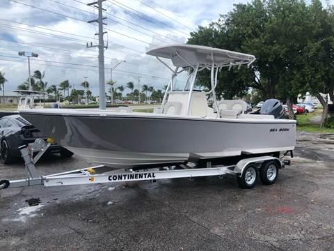 2020 SEA BORN NEW LX22 CENTER CONSOLE for sale at Key West Kia - Wellings Automotive & Suzuki Marine in Marathon FL