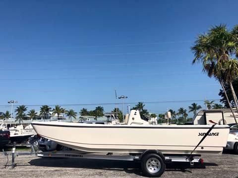 2020 Sundance DX22 Hull for sale at Key West Kia - Wellings Automotive & Suzuki Marine in Marathon FL