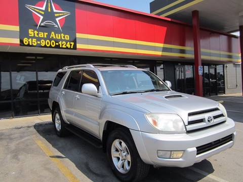 2004 Toyota 4Runner for sale at Star Auto Inc. in Murfreesboro TN