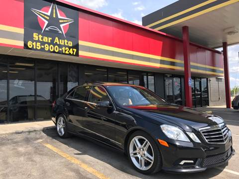 2011 Mercedes-Benz E-Class for sale at Star Auto Inc. in Murfreesboro TN