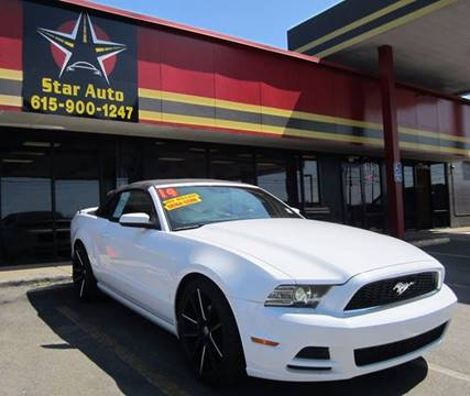 2014 Ford Mustang for sale at Star Auto Inc. in Murfreesboro TN