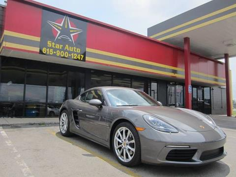 2018 Porsche 718 Cayman for sale at Star Auto Inc. in Murfreesboro TN