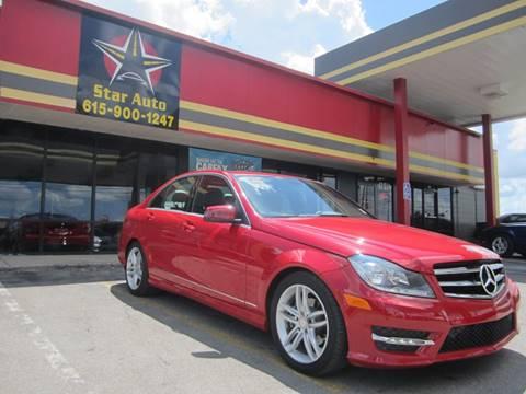 2014 Mercedes-Benz C-Class for sale at Star Auto Inc. in Murfreesboro TN