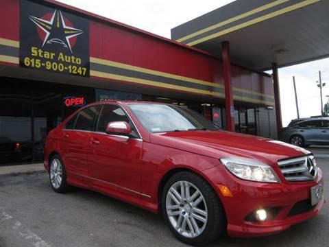 2009 Mercedes-Benz C-Class for sale at Star Auto Inc. in Murfreesboro TN