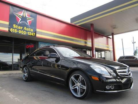 2011 Mercedes-Benz E-Class for sale at Star Auto Inc. in Murfreesboro TN