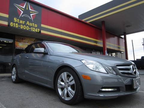 2012 Mercedes-Benz E-Class for sale at Star Auto Inc. in Murfreesboro TN