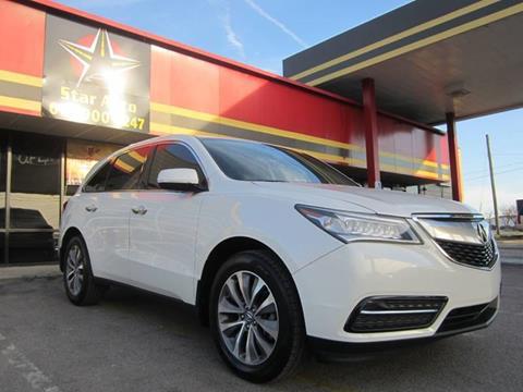 2014 Acura MDX for sale at Star Auto Inc. in Murfreesboro TN