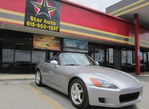 2001 Honda S2000 for sale at Star Auto Inc. in Murfreesboro TN