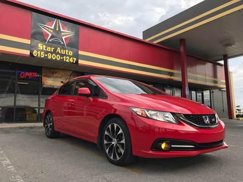 2013 Honda Civic for sale at Star Auto Inc. in Murfreesboro TN