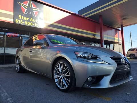 2014 Lexus IS 250 for sale at Star Auto Inc. in Murfreesboro TN