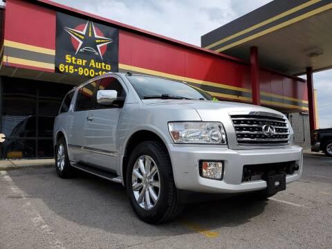 2010 Infiniti QX56 for sale at Star Auto Inc. in Murfreesboro TN