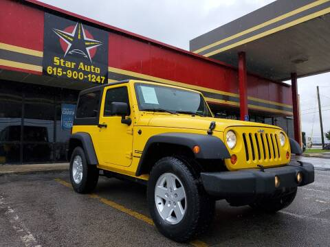 2011 Jeep Wrangler for sale at Star Auto Inc. in Murfreesboro TN