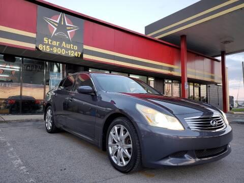 2009 Infiniti G37 Sedan for sale at Star Auto Inc. in Murfreesboro TN