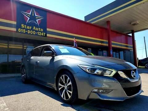 2016 Nissan Maxima for sale at Star Auto Inc. in Murfreesboro TN