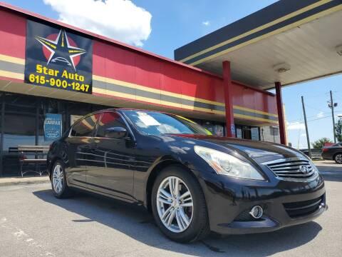2013 Infiniti G37 Sedan for sale at Star Auto Inc. in Murfreesboro TN